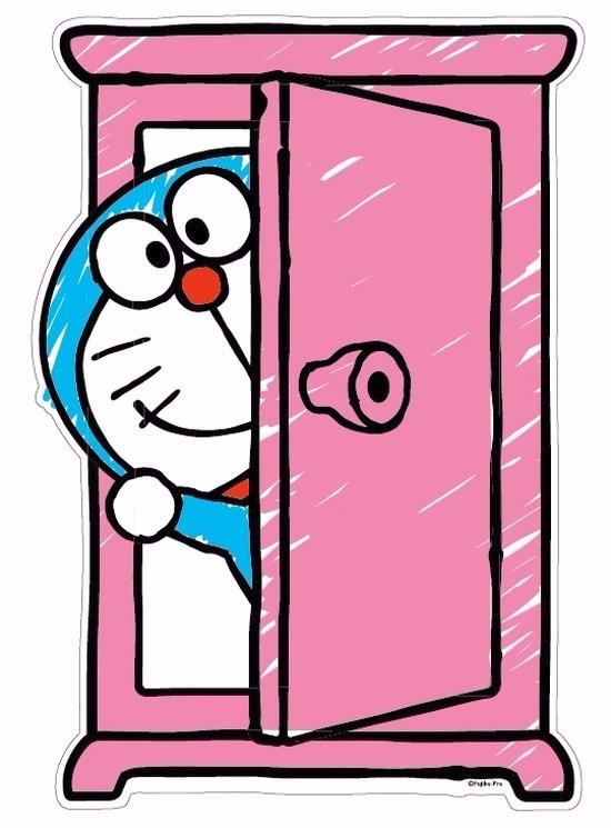 ドラえもん I\u0027m Doraemonシリーズ どこでもドア BIGウォールステッカー ホビーの総合通販サイトならホビーストック