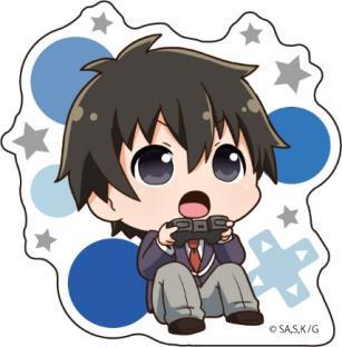ゲーマーズ! アクリルバッジ 雨野景太 アニメ・キャラクターグッズ新作情報・予約開始速報