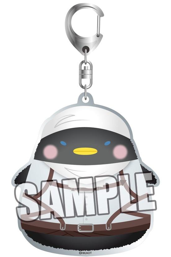 進撃の巨人 ちゅんコレ アクリルキーホルダー お アニメ・キャラクターグッズ新作情報・予約開始速報