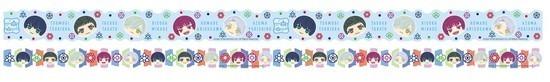 A3! マスキングテープセット 冬組 アニメ・キャラクターグッズ新作情報・予約開始速報