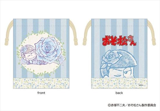 おそ松さん るっこれ~花のおくりもの~ 巾着 カ アニメ・キャラクターグッズ新作情報・予約開始速報