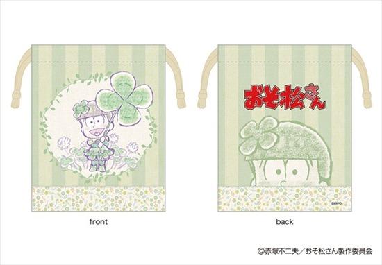 おそ松さん るっこれ~花のおくりもの~ 巾着 チ アニメ・キャラクターグッズ新作情報・予約開始速報