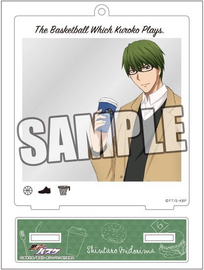 黒子のバスケ スナップショットスタンド 緑間真 アニメ・キャラクターグッズ新作情報・予約開始速報