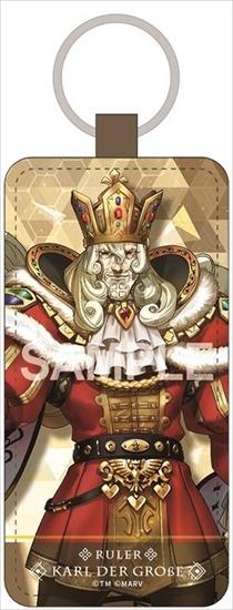 Fate/EXTELLA LINK レザーキーホルダー カール大帝 アニメ・キャラクターグッズ新作情報・予約開始速報