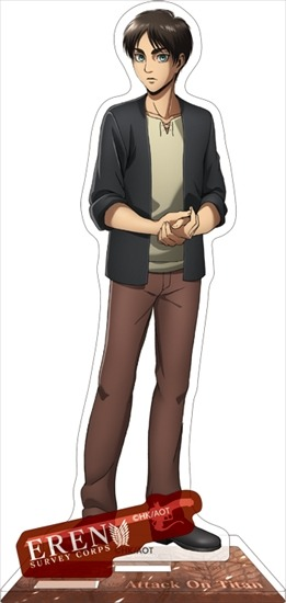進撃の巨人 アクリルスタンド エレン アニメ・キャラクターグッズ新作情報・予約開始速報