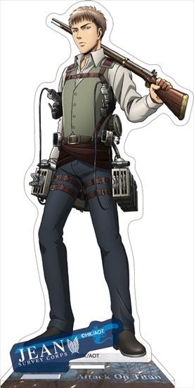進撃の巨人 アクリルスタンド ジャン アニメ・キャラクターグッズ新作情報・予約開始速報