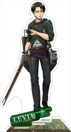 進撃の巨人 アクリルスタンド リヴァイ アニメ・キャラクターグッズ新作情報・予約開始速報