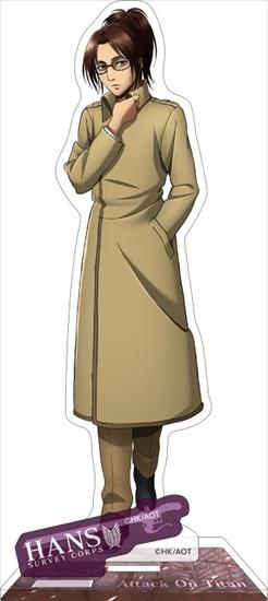 進撃の巨人 アクリルスタンド ハンジ アニメ・キャラクターグッズ新作情報・予約開始速報