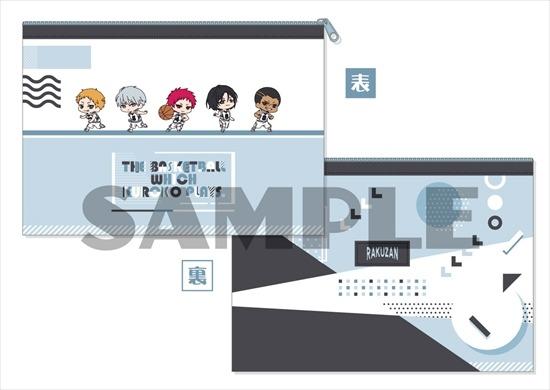 黒子のバスケ わちゃっと!フラットポーチ 6 洛 アニメ・キャラクターグッズ新作情報・予約開始速報