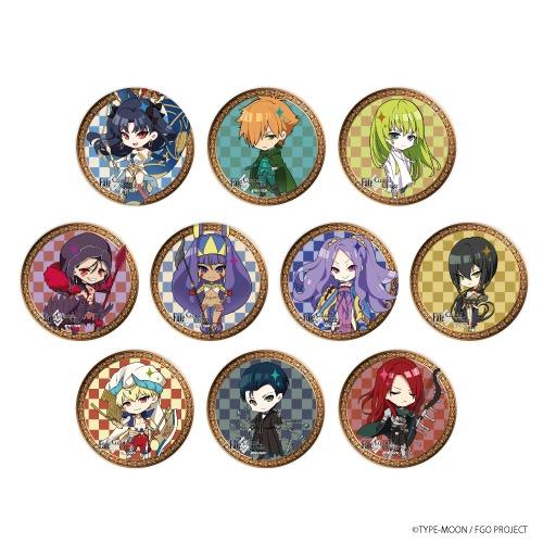 Fate/Grand Order 缶バッジ 06/CMRE 10個入り1BOX アニメ・キャラクターグッズ新作情報・予約開始速報