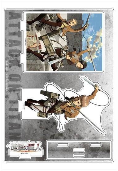 進撃の巨人 アクリルジオラマ ジャン、コニー、 アニメ・キャラクターグッズ新作情報・予約開始速報