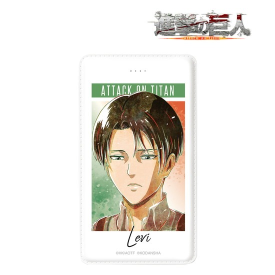 進撃の巨人 リヴァイ Ani-Art モバイルバッテリ アニメ・キャラクターグッズ新作情報・予約開始速報