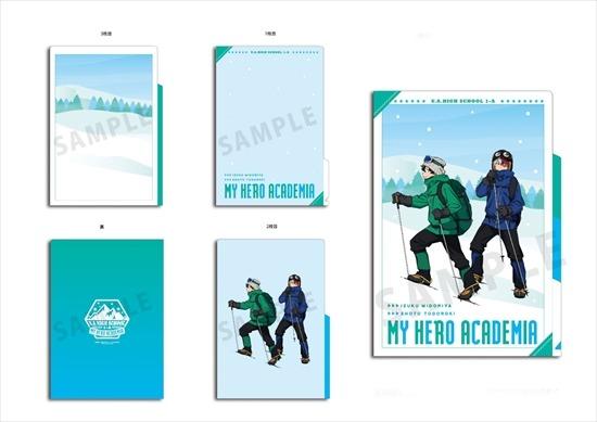 僕のヒーローアカデミア 雪山登山3ポケットクリ アニメ・キャラクターグッズ新作情報・予約開始速報