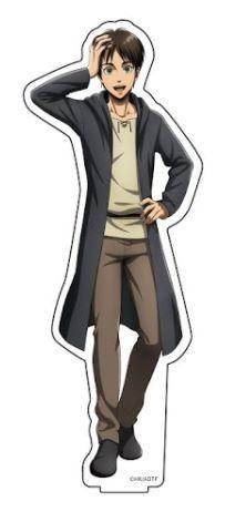 進撃の巨人 描き下ろしアクリルフィギュアS エレ アニメ・キャラクターグッズ新作情報・予約開始速報