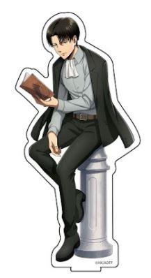 進撃の巨人 描き下ろしアクリルフィギュアS リヴ アニメ・キャラクターグッズ新作情報・予約開始速報