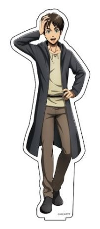 進撃の巨人 描き下ろしアクリルフィギュアM エレ アニメ・キャラクターグッズ新作情報・予約開始速報
