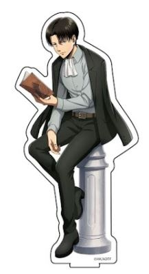 進撃の巨人 描き下ろしアクリルフィギュアM リヴ アニメ・キャラクターグッズ新作情報・予約開始速報